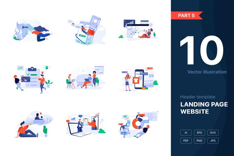 part-5-website-illustrations-set