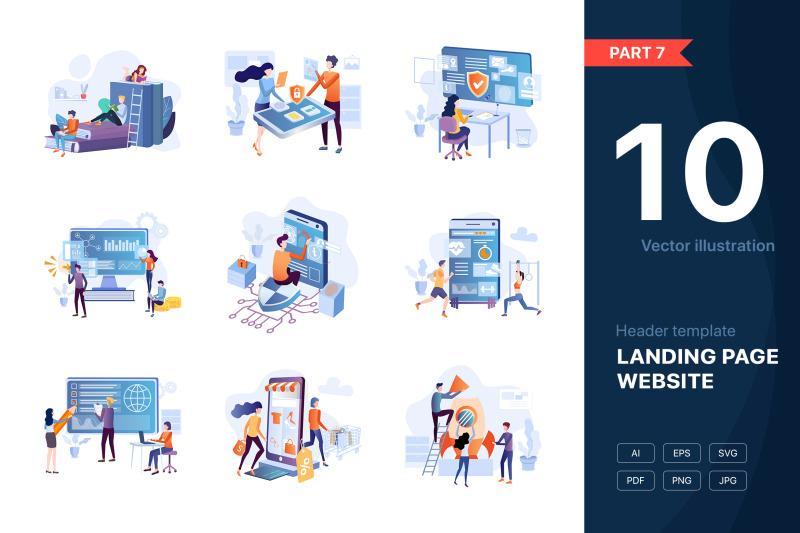 part-7-website-illustrations-set