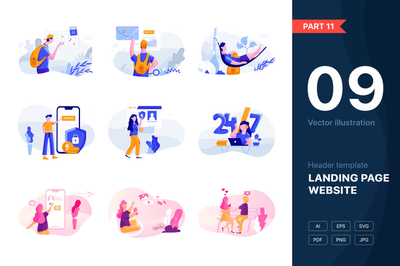 part-11-website-illustrations-set