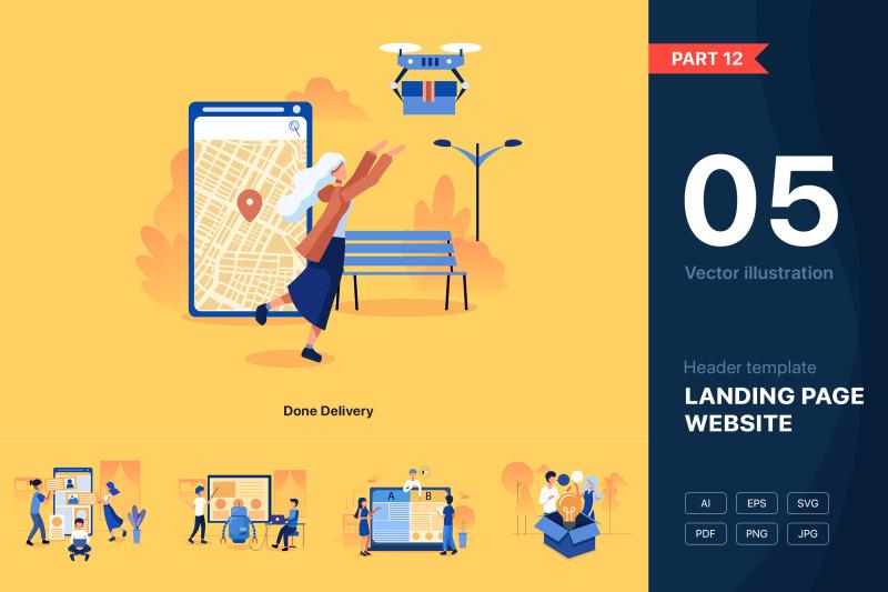 part-12-website-illustrations-set