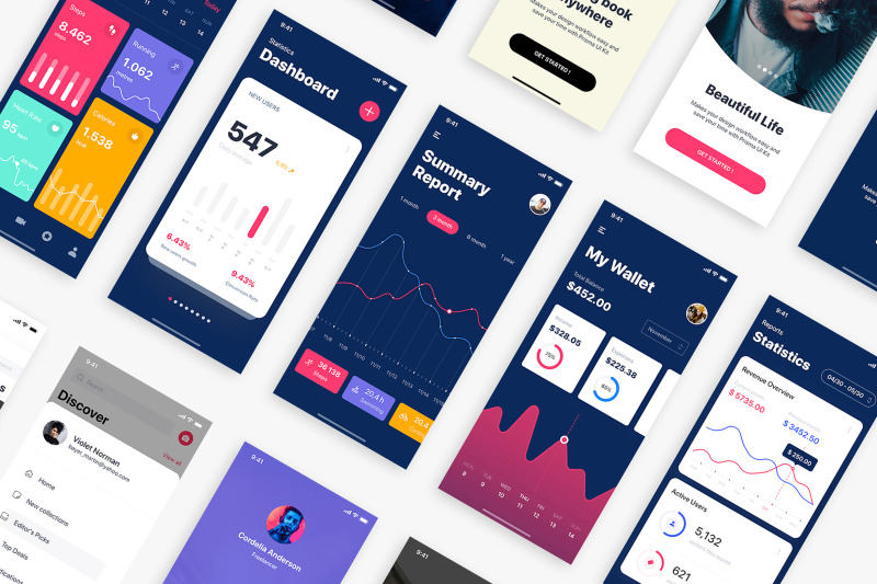 caser-mobile-ui-kit