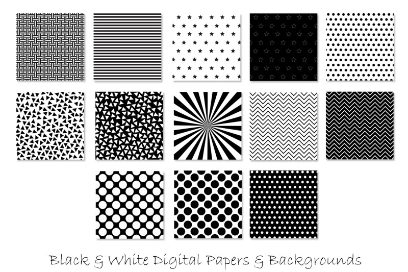 black-and-white-pattern-designs
