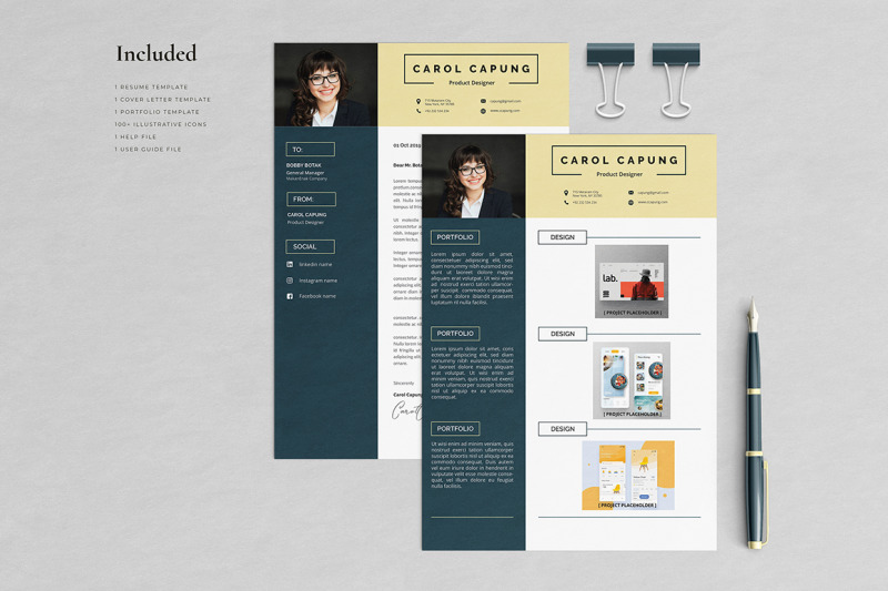 carol-resume-template