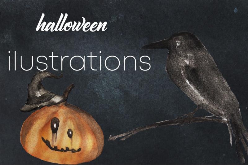 halloween-illustrations