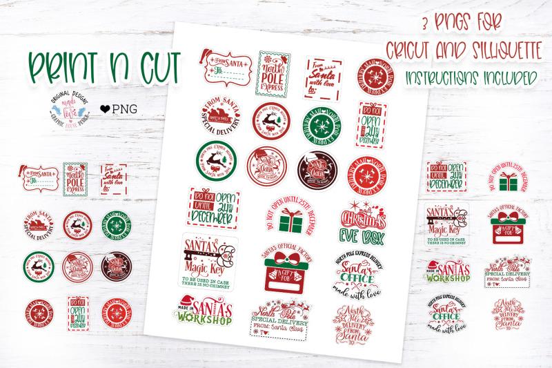 christmas-santa-stamp-stickers