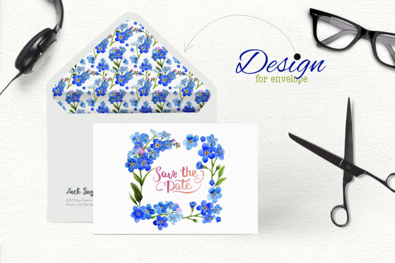 myosotis-flowers-blue-nbsp-png-watercolor-set