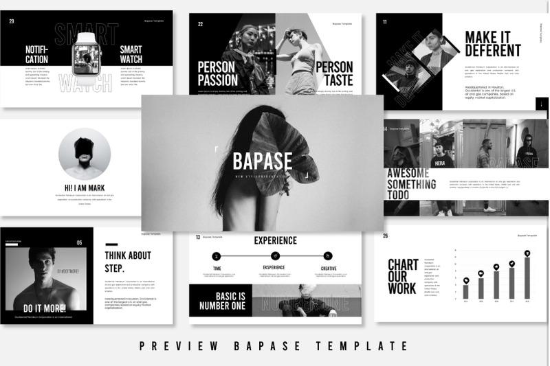 bapase-keynote-template