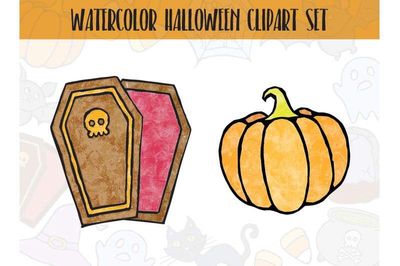 funny-watercolor-halloween-clipart