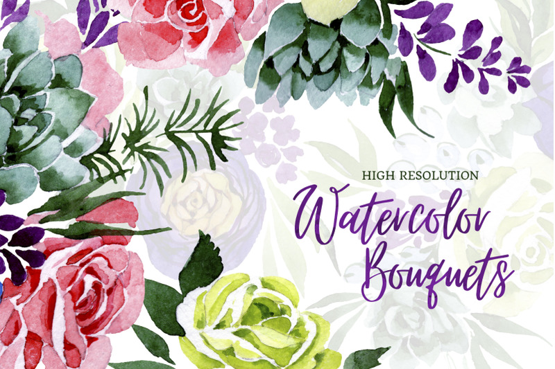bouquet-of-flowers-wedding-watercolor-png