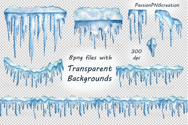 watercolor-icicles-clipart