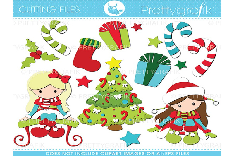 christmas-girls-cutting-files