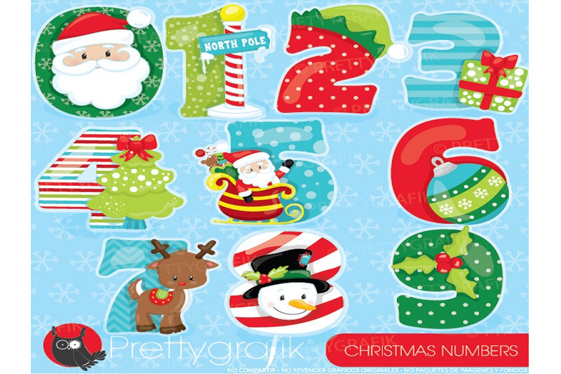 christmas-numbers-clipart