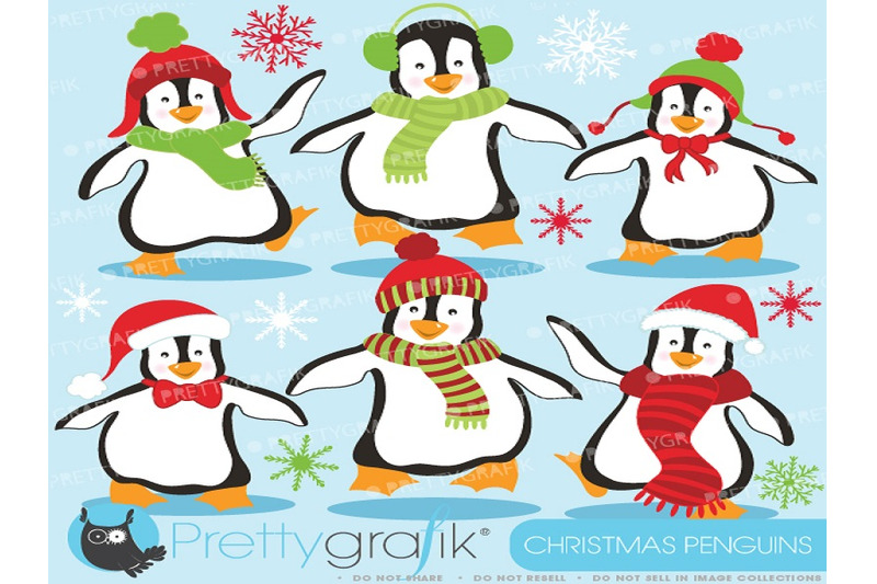 christmas-penguin-clipart