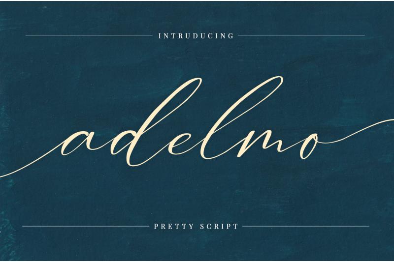 adelmo-pretty-script