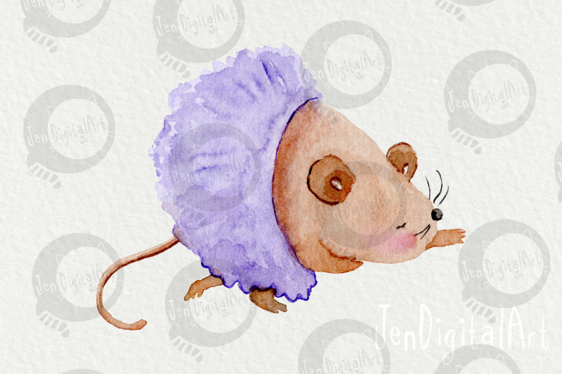 watercolor-ballet-mice-5-clip-art-illustrations-png-jpg