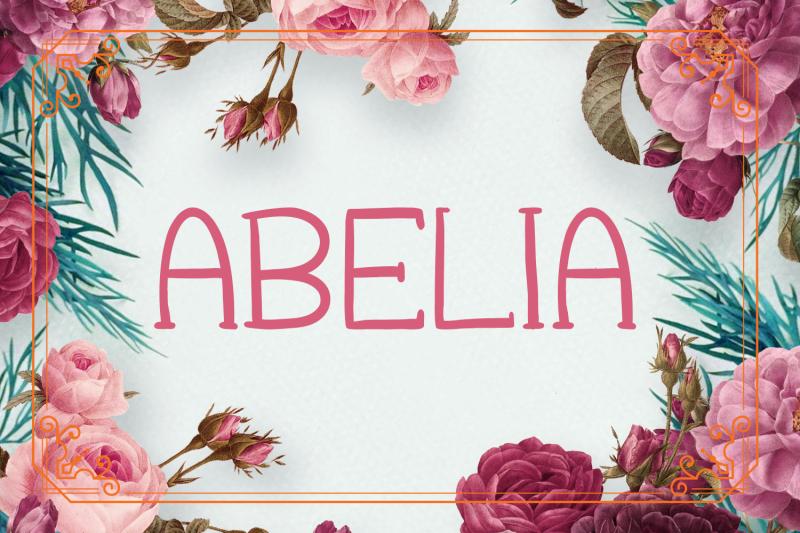 abelia-font