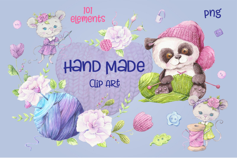 hand-made-watercolor-clip-art
