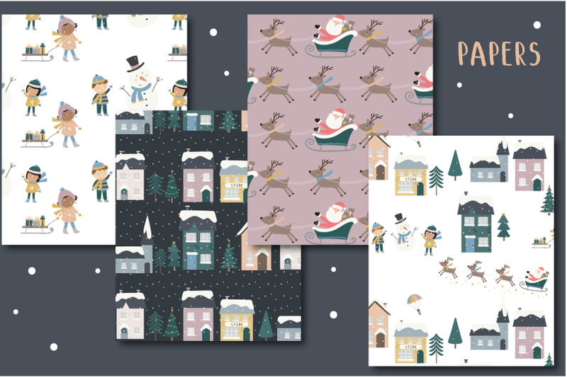 holiday-town-paper