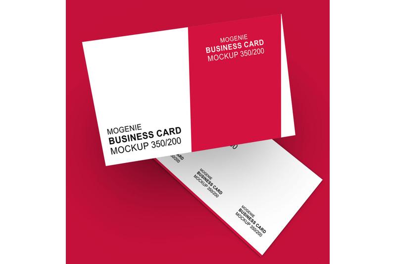 Free Business Card Mockup - Double Sided (PSD Mockups)