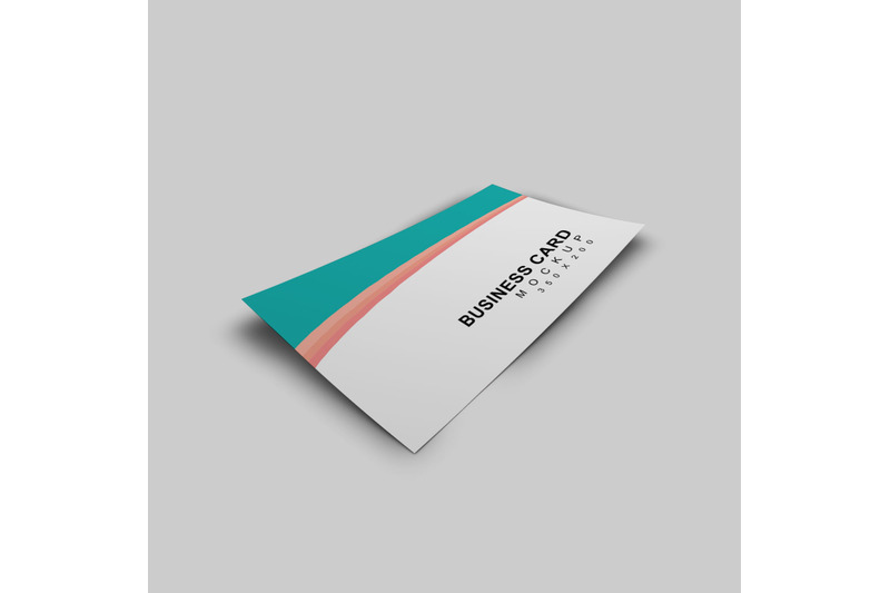Free Business Card Mockup - Single Sided (PSD Mockups)