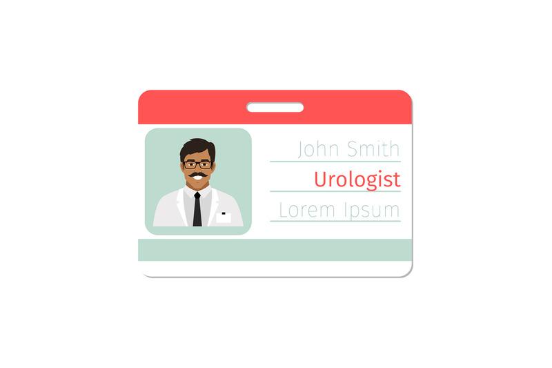 urologist-medical-specialist-badge-template