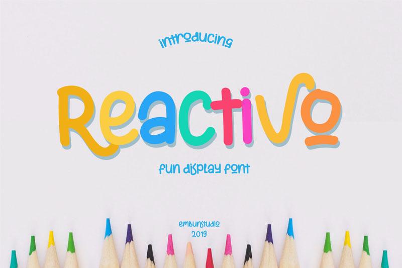 reactivo-fun-display-font