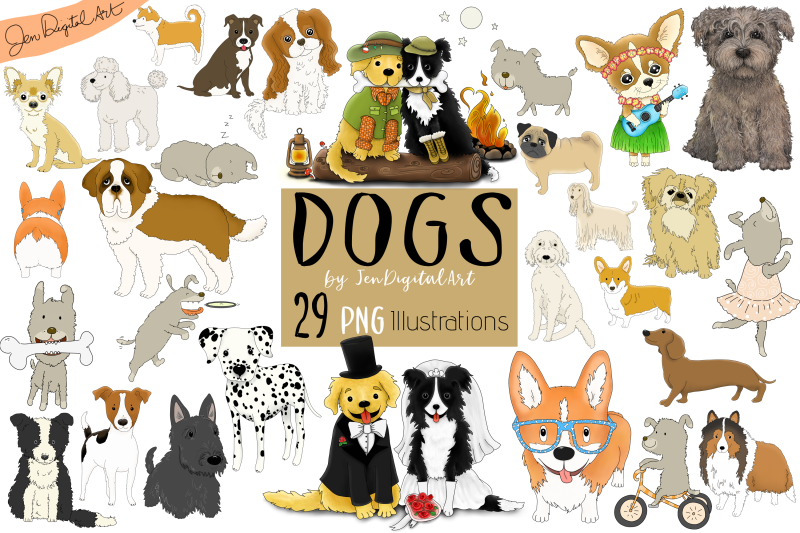 dogs-big-graphics-set-29-png-images