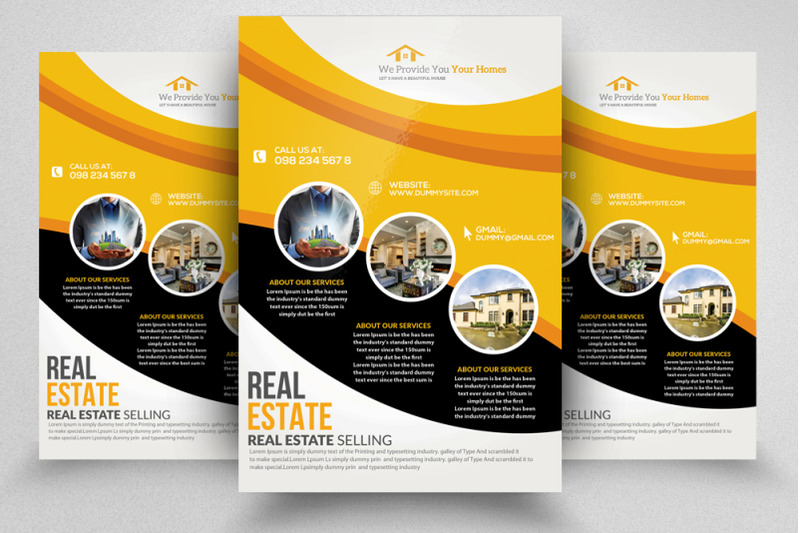 real-estate-flyer-poster-template