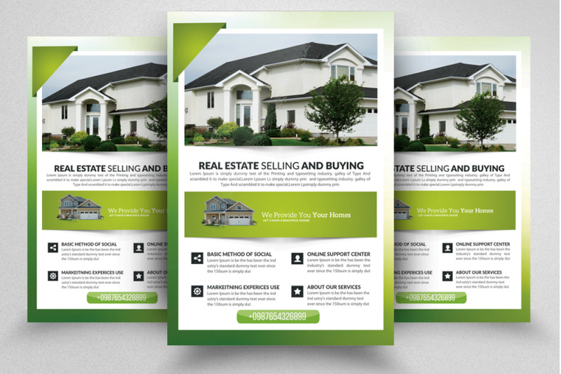 real-estate-agent-flyer-template
