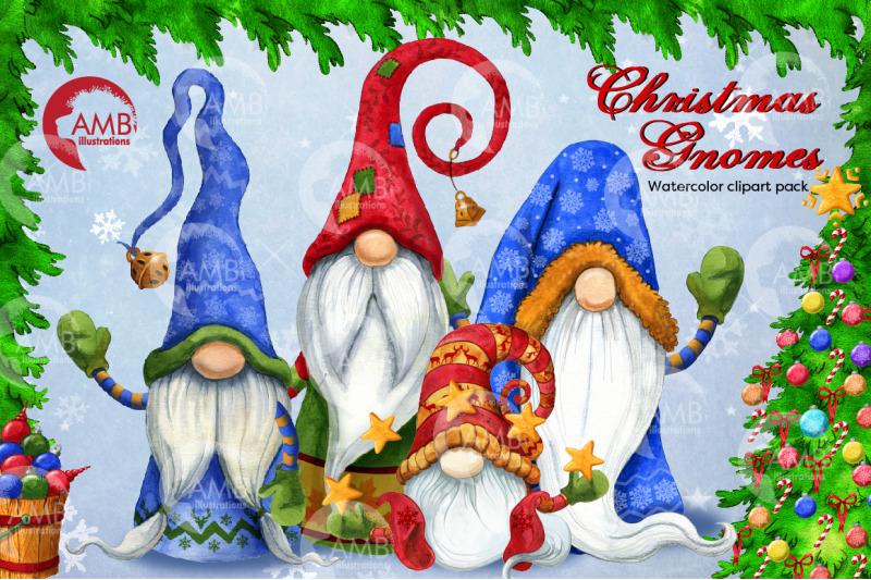 christmas-gnomes-clipart-nordic-scandinavian-gnome-amb-2675