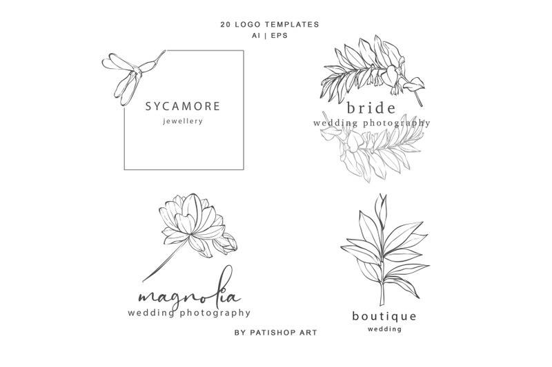 hand-drawn-botanical-logos-amp-illustrations