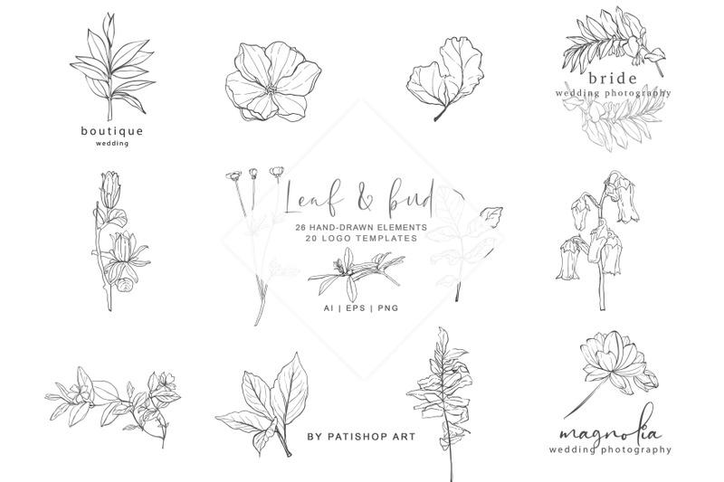 hand-drawn-botanical-logos-amp-illustrations