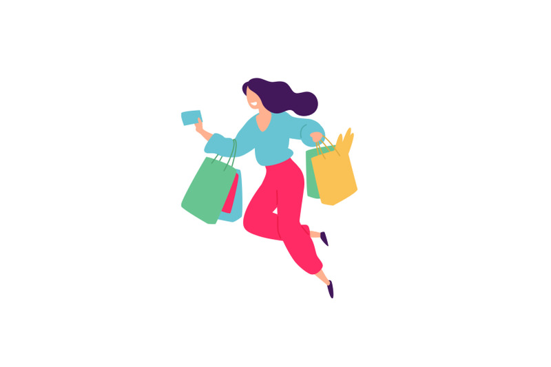 illustrations-of-men-and-women-with-shopping