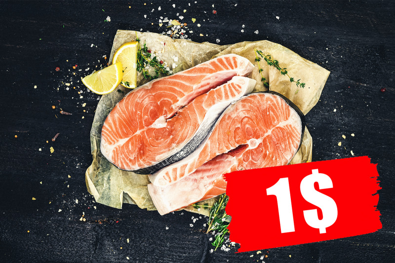 salmon-steaks-on-black-background-top-view
