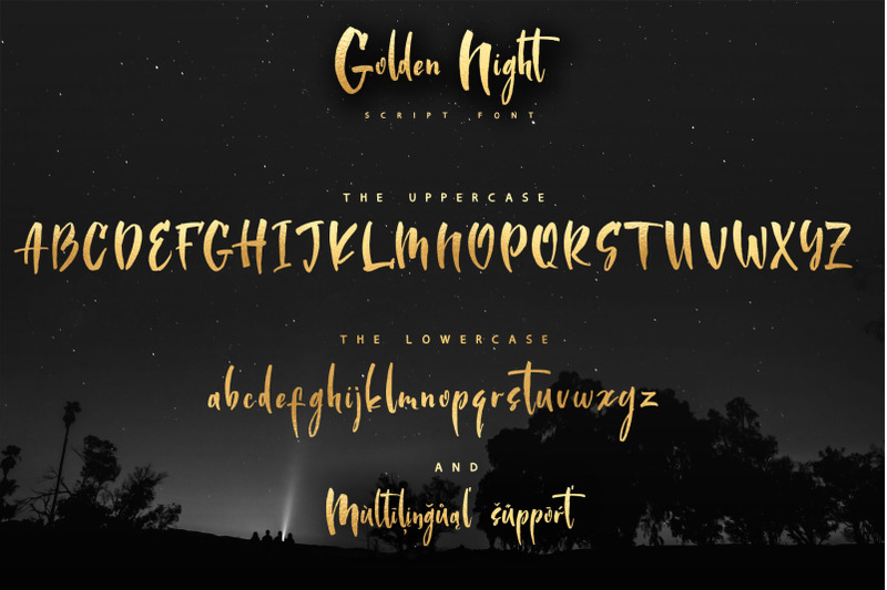 golden-night-script-font-amp-gold-foil-ps-styles