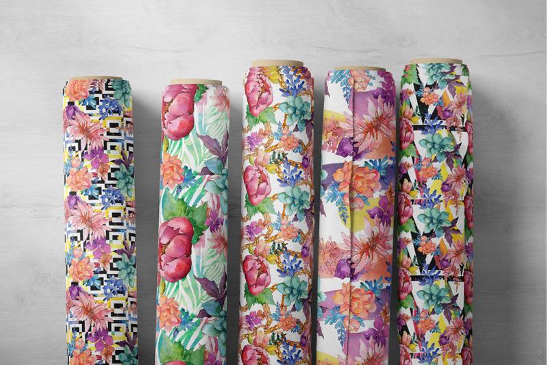 succulent-watercolor-flowers-png
