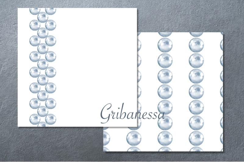 pearls-set-watercolor-patterns