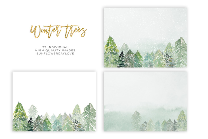 conifer-forest-trees-clipart-fir-trees-clipart-watercolor-pine-trees