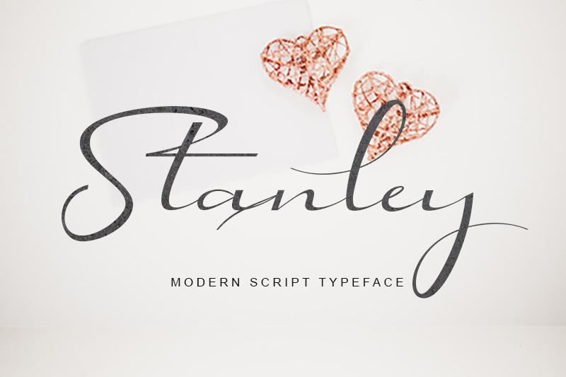 stanley-modern-script-typeface