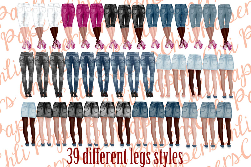 best-friends-clipart-jeans-and-legs-bridesmaid-clipart