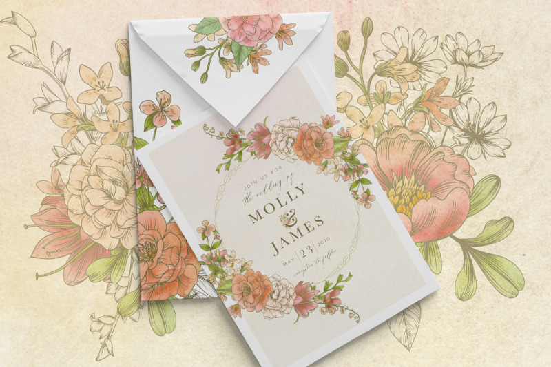 harmony-botanical-floral-graphics-collection