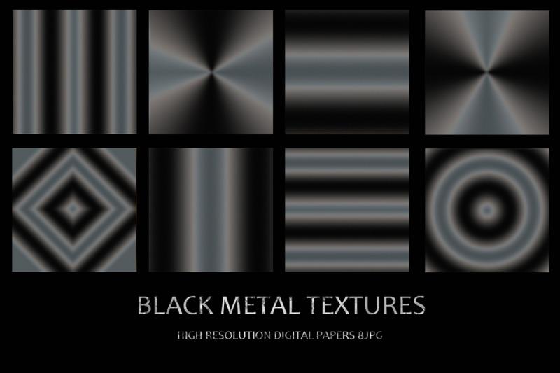 black-foil-and-metal-textures