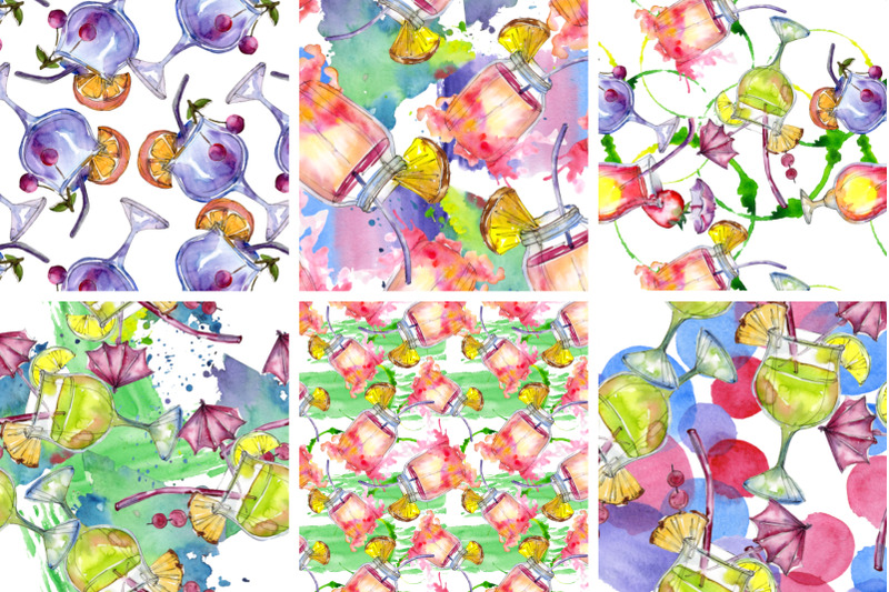cocktail-illustrations-watercolor-party-png