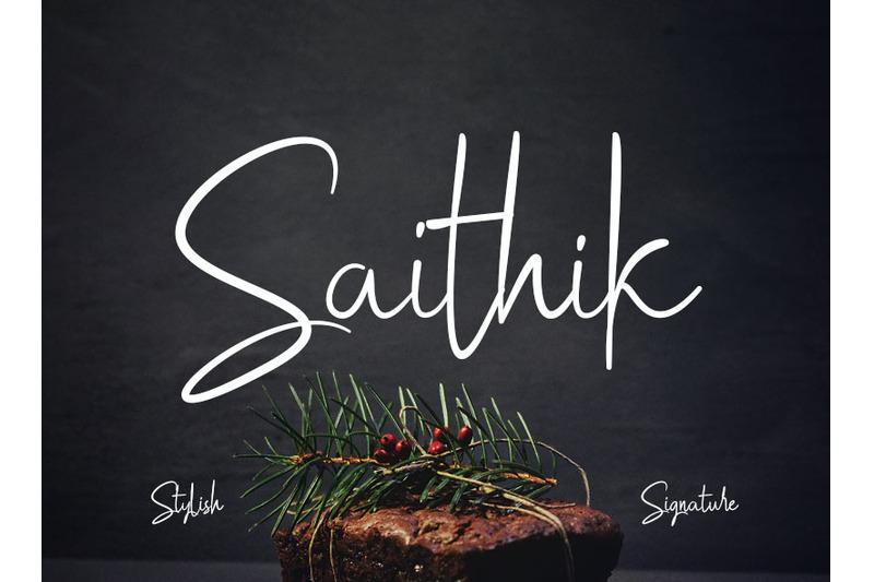 saithik-stylish-signature