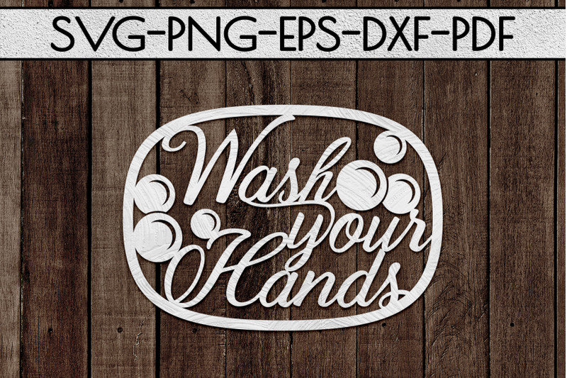 wash-your-hands-papercut-template-bathroom-decor-svg-pdf