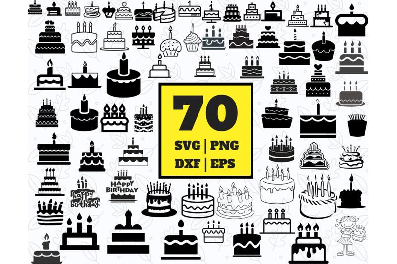 70-birthday-cake-svg-cake-clipart-birthday-cake-vector-birthday