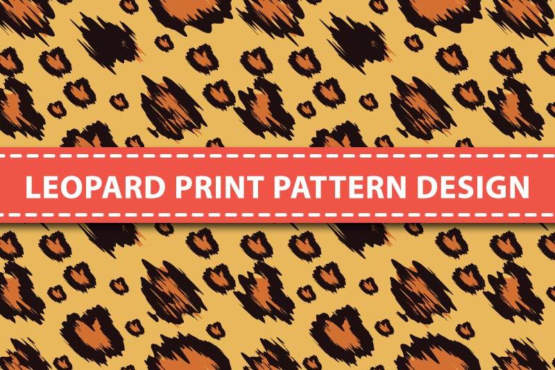 vector-leopard-print-pattern-design