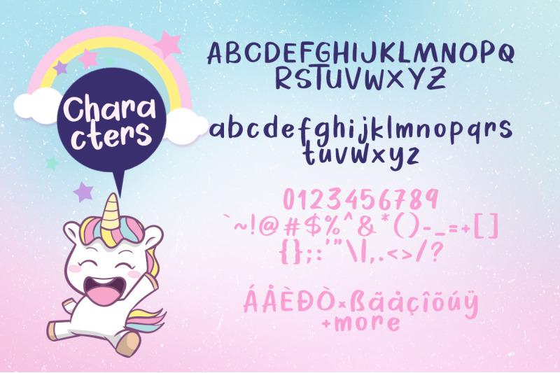 cheerful-unicorn-vector
