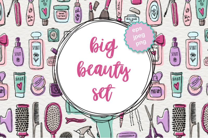 big-beauty-vector-set