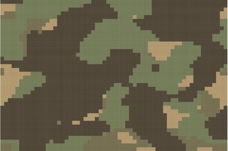 pixel-camouflage-textures